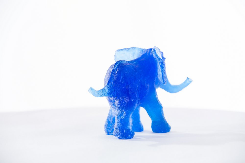 Tamu der kleine blaue Elefant
