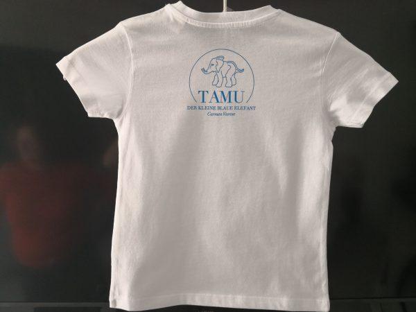 T-Shirt Tamu der kleine blaue Elefant